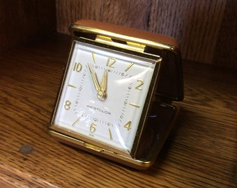 1960's Westclox Japan Travel Alarm Clock