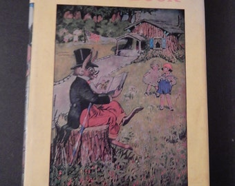 1939 . Uncle Wiggly's Story Book . with Original Dustcover