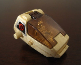 Vintage ZOIDS Monster Machine White Head with Gold Figure – TOMY 1981 Mechabonica Zoids Wind-Up Toys – Replacement Part