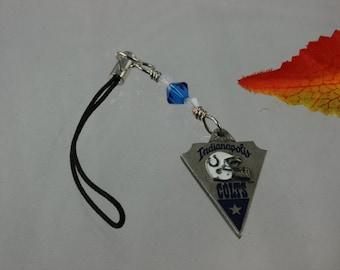 SALE Cell Phone Charm Swarovski Crystal