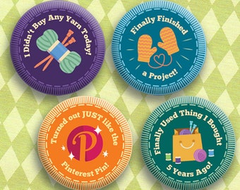 Troop Squee - 1 Inch Button - Merit Badge Set