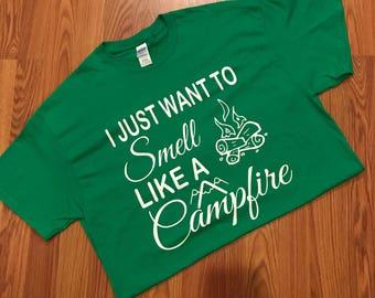 Smell like a Campfire T-shirt