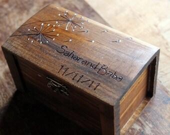 wedding ring pillow, rustic wedding ring box, ring bearer pillow, wood ring box, ring bearer, custom wedding ring box, ring bearer box