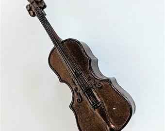 Pencil Sharpener as a Violin Made in Germany Violinist or  Pencil Sharpener Collector Item Office Decor Metal Sharpener Works
