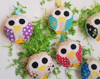 Cody and kait by codyandkait on etsy ouchie bag ice pack owl easter basket gift under 10 dollars negle Images