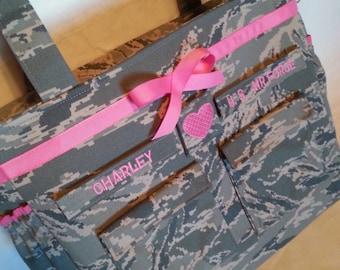 Air Force diaper bag camo diaper bag Daddy diaper bag gift for him handmade personalized custom gift for her ABU