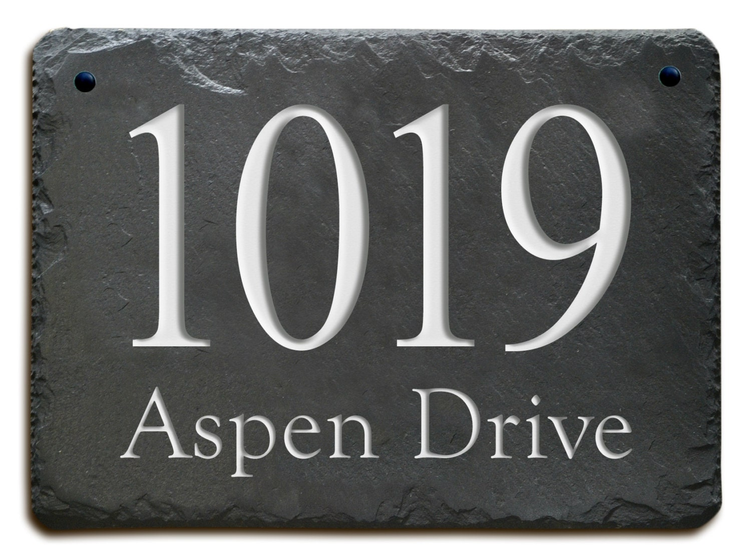Stone address plaque marker carved house slate circa zoom dailygadgetfo Gallery