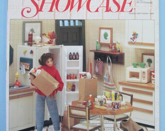 Miniature Showcase Magazine back issue Summer 1989 used good condition