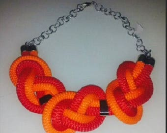 Original climbing rope necklace
