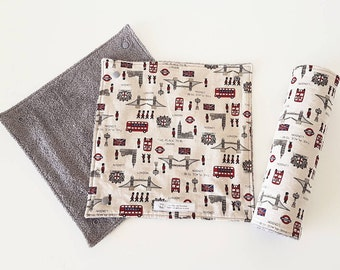 Reusable Paper Towel | Washable Kitchen Towel |  Environmentally Friendly Paper Towel | Kitchen Roll Washable | London The Place To Be