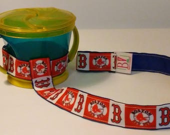 Boston Red Sox Sippy Cup Straps - Sippy No Slippy