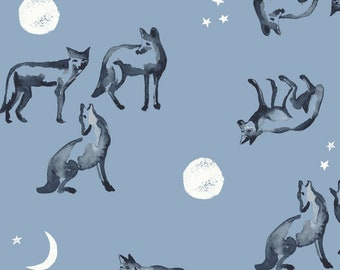 Coyote Moon - Journey Collection by Monaluna - Organic Cotton POPLIN