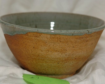 Wood Fired  PotteryBowl 7