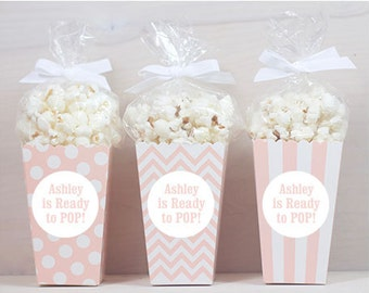 Baby Shower Favors Using Popcorn ~ Baby shower favor ideas popcorn u baby showers ideas