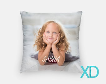 Custom Pillow, Custom Pillow Case, Personalized Pillow, Pillow Gift, Photo Pillow, Custom Decor, Couch Pillow, Pillow Cover, Gift For Anyone