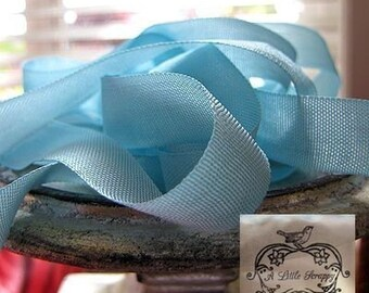 Rayon Seam Binding Ribbon Paradise Aqua