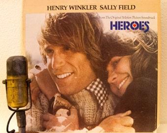 "Henry Winkler Sally Field Harrison Ford 1970s Movie Drama Vietnam War Veteran PTSD Jack Nitzsche Sonny Burke Kim Carnes ""Heroes"" (1977 Mca)"