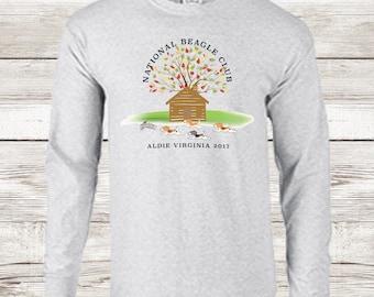 Beagle national 2017 tshirt grey long sleeve shirt