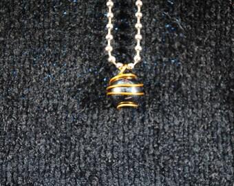 Black Marble Pendant