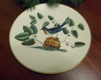 1977 Gorham, Made By Mark Catesby, The BlueBird Pattern, The Catesby Collection AMerican Preservation Guild, Ltd, 5420/9900