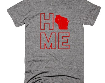 Wisconsin Home Triblend Super-Soft T-Shirt