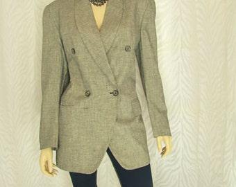 Jones Of New York Tweed Jacket