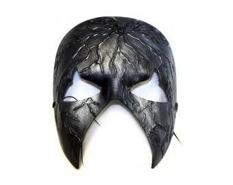 Gravestone Mens Scary Masquerade Ball Mask - A-2092-E