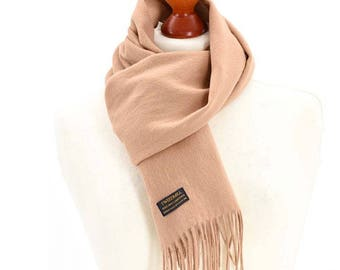 Tweedmill Lambswool Scarf with Rolled Fringe