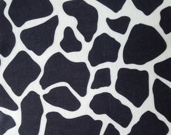 "Printed Felt Rectangle: Giraffe (9""x12"")"