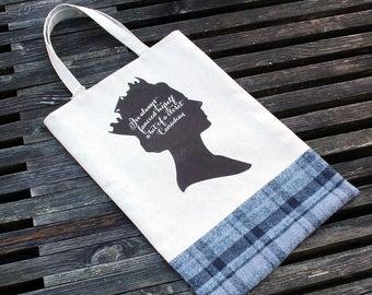 Queen Tote & Book Bag