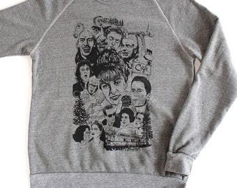 TWIN PEAKS revival DAVID Lynch megastar studded Sweatshirt