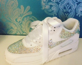 Nike air max 90 crystal design