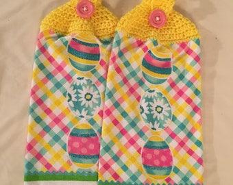EASTER  Print Towel set of 2