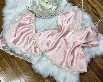 Sz Med Vtg Christian Dior NWT Lingerie Sleep Set