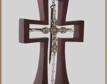 Wedding Keepsake Cross created by Two Love Birds