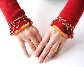 Glamorous Gauntlets with  Beads