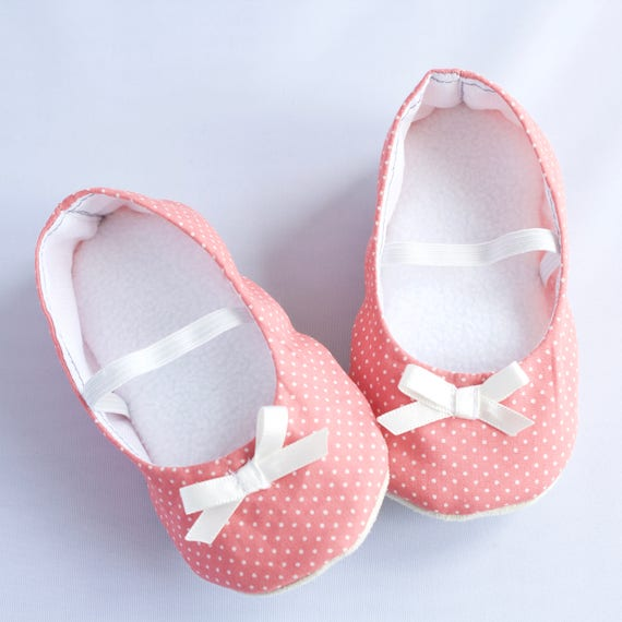Girls pink Ballet Flats. for pre walkers and toddlers