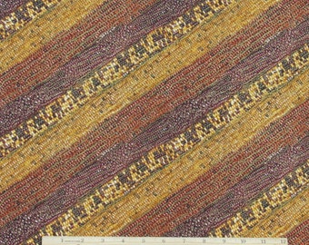 Indian Corn Fabric Autumn Fauna With Metallic Gold From Kanvas 100% Cotton