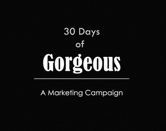 30 Days of Gorgeous Photography Marketing EBook