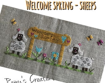 Welcome Spring - Sheep