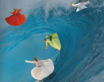 Surfing Sufis Collage Funny
