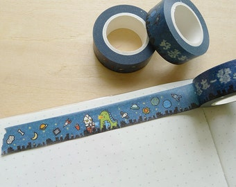 Ultraman In Space Washi Tapes