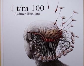 Book Drawings 1 till 100 by Redmer Hoekstra