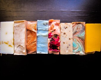 BUY 5 GET 1 FREE -Handmade Soap -Soap Set -All Natural Skincare -Bulk Soap -Housewarming Gift - Homemade Soap - Soap Favors - Wholesale Soap