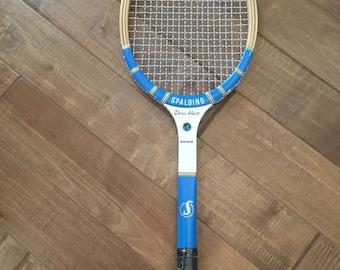 Vintage  Spalding  Mono Doris Hart Unused Tennis Racquet