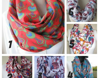 Turkey Ottoman tile print scarf/cotton gauze infinity scarf/Red green paisley cintemani yemeni womens scarves/tube -circle- loop scarves2012