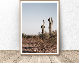 Cactus Art Print, Digital Downloads, Art Print Downloads, Cacti, Desert Art, Photography, Printable Art, Home Decor, Wall Art, Minimalist