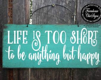 be happy, be happy sign, boho wall decor, boho sign, be happy decoration, happy sign, bohemian wall art, boho wall art