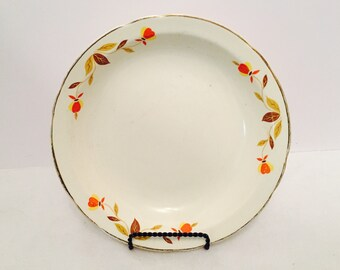Unmarked Autumn Leaf Soup Bowl