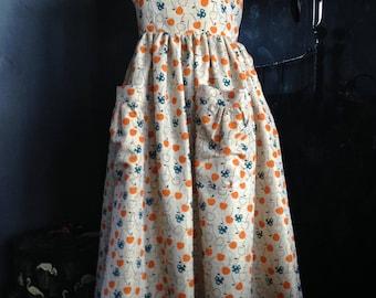 1950's vintage style halter neck dress.